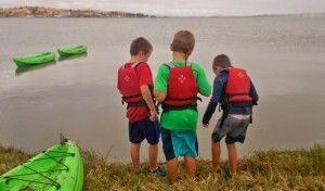 kayaking explore