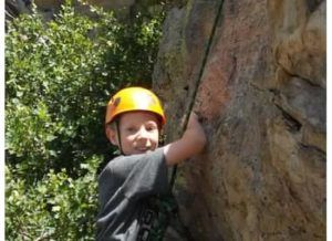 rock climb 3rd year