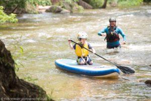 paddling kids